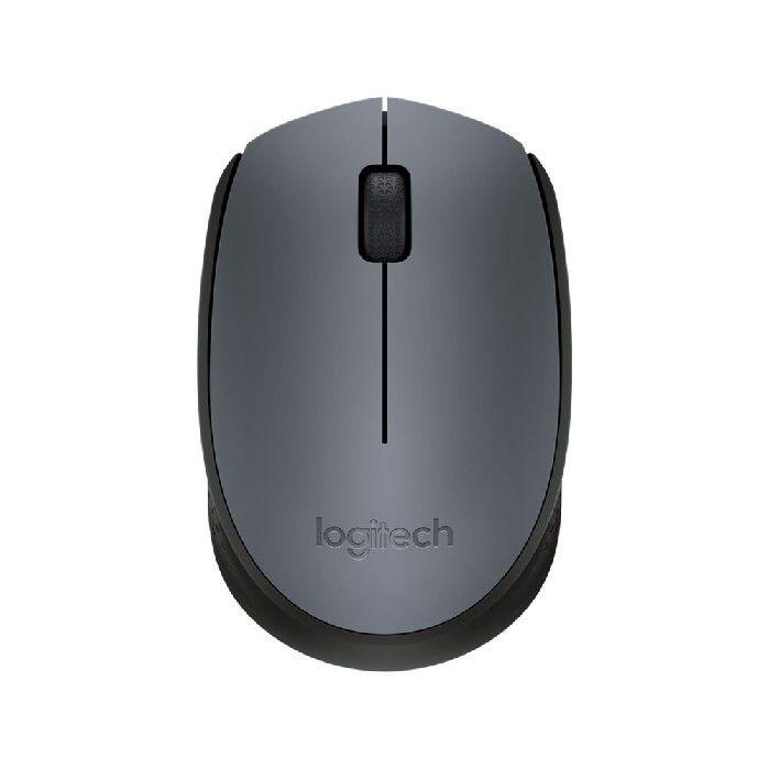 Mouse Wireless Nano M170 Cinza e Preto  Logitech