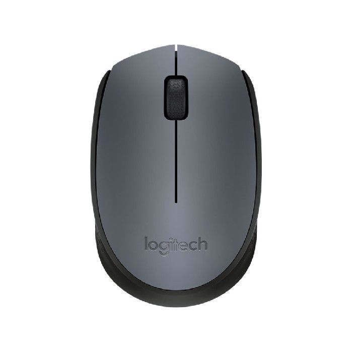 Mouse Wireless Nano M170 Cinza e Preto  Logitech