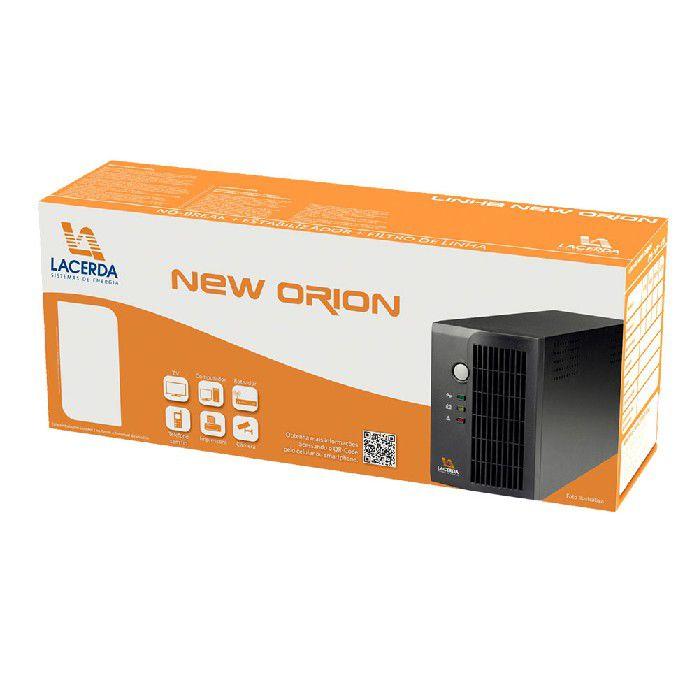 Nobreak 600va Bi-aut S115v New Orion Lacerda 3t 1x4,5ah 010062111-x13