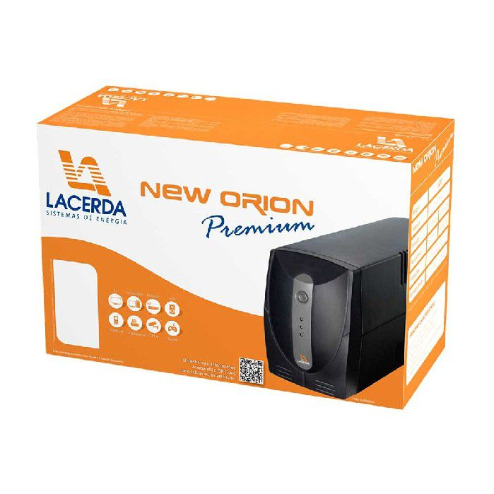 Nobreak 600va E/s115v New Orion Lacerda 6 Tomada