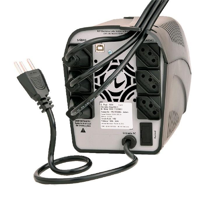 Nobreak Ragtech Easy Pro Senoidal 700VA CBU-TI Trivolt Automático - 20NEP4164