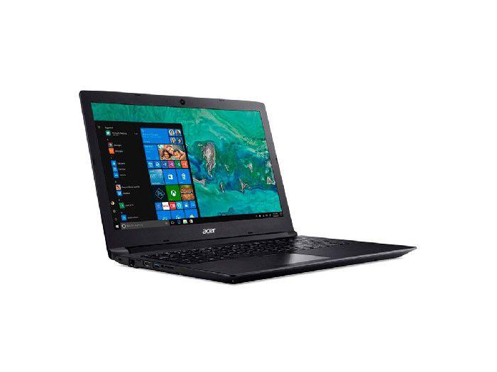 """Notebook Acer Proc I3-8130U 8 Geração / 4GB / HD 1TB / 15,6"""" / W10 A315-53-34Y4"""