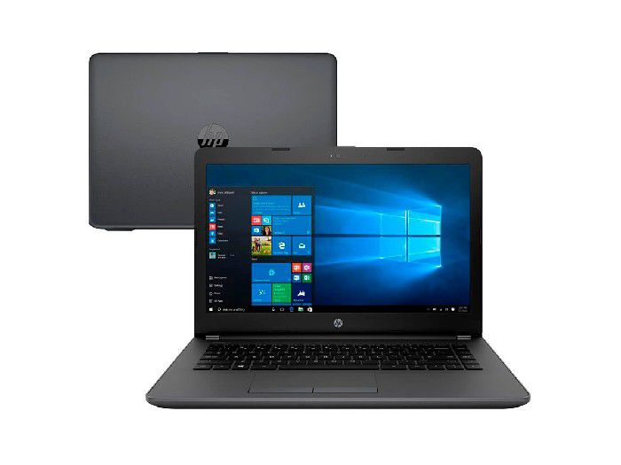 "Notebook Hp Proc. I3-7020U/4GB/HD 500GB/14""/Win 10 Home - 246 G6 3XU35LA#AC4"