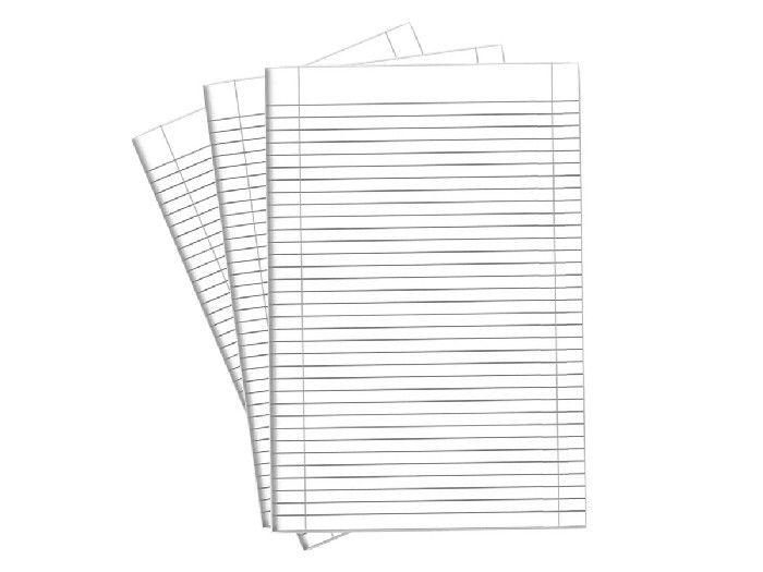Papel Almaço Com Pauta, 400 Folhas, Máxima Caderno - 225