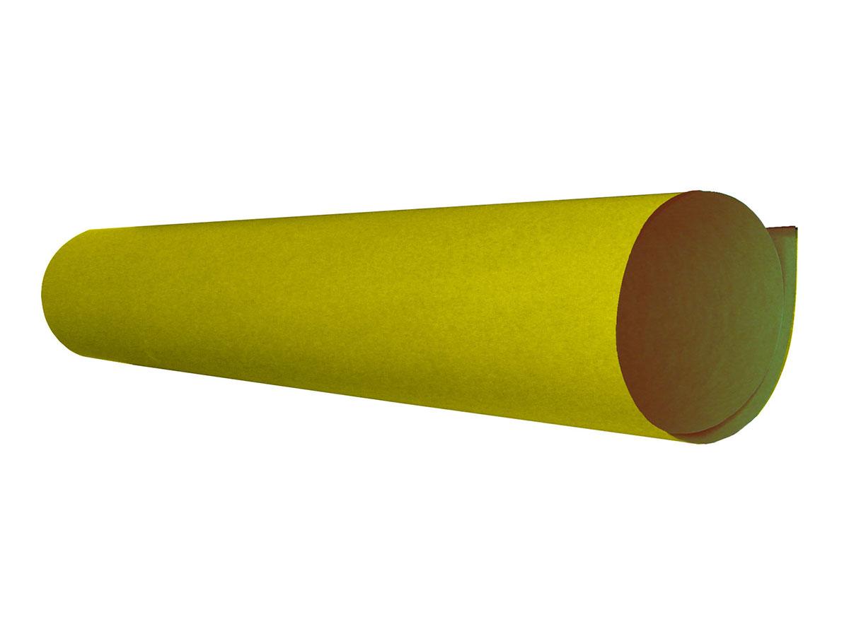 Papel Cartão Fosco 48 x 66 Cm Contém 20 Folhas VMP - Amarelo