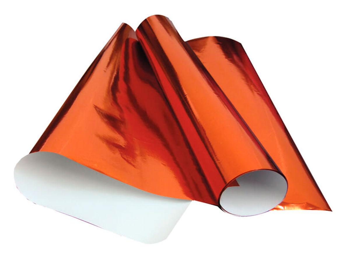Papel Laminado 48 x 60 Cm, Contém 40 Folhas VMP - Vermelho