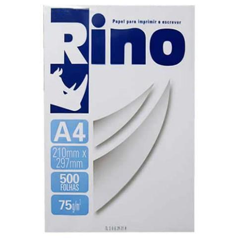 Papel Sulfite A4 Rino 500 Folhas caixa com 10 Resmas