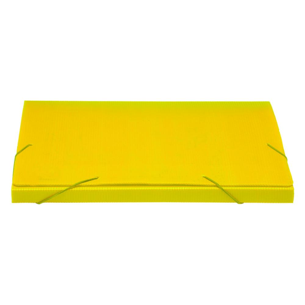Pasta Polionda 20mm Pacote Com 10 Unidades - Polibras - Amarela - 202/06