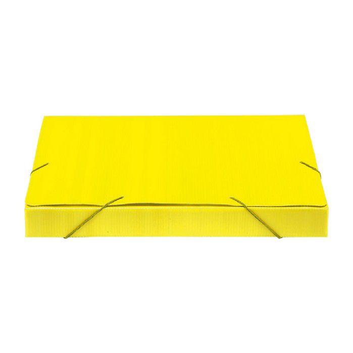 Pasta Polionda 35mm, Pct. C/ 10 Unidades - Polibras -  Amarela - 203/06