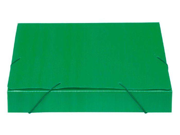 Pasta Polionda 55mm, Pct. C/ 10 Unidades - Polibras - Verde - 204/08