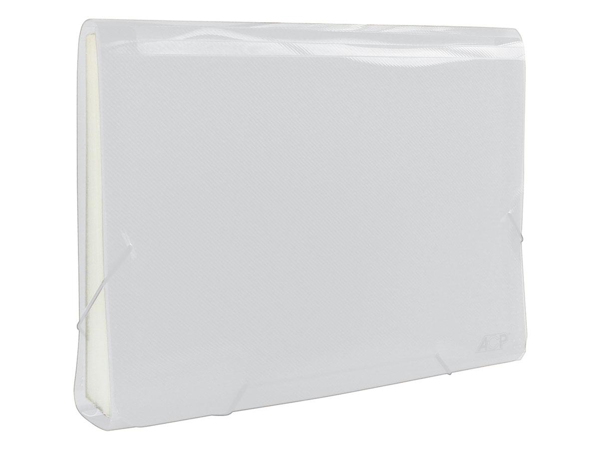 Pasta Sanfona A4 Cristal, 31 Divisões - ACP - 1045CR