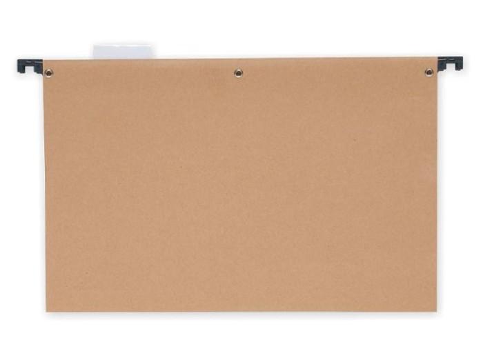 Pasta Suspensa Semi Kraft Com Grampo Plástico e Visor, Polycart - 5145