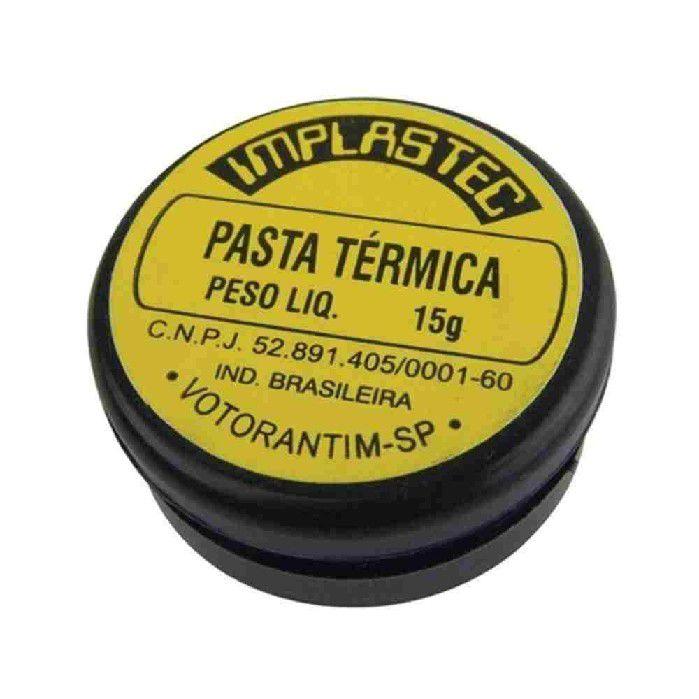 Pasta Termica 15g - Implastec 077-1515
