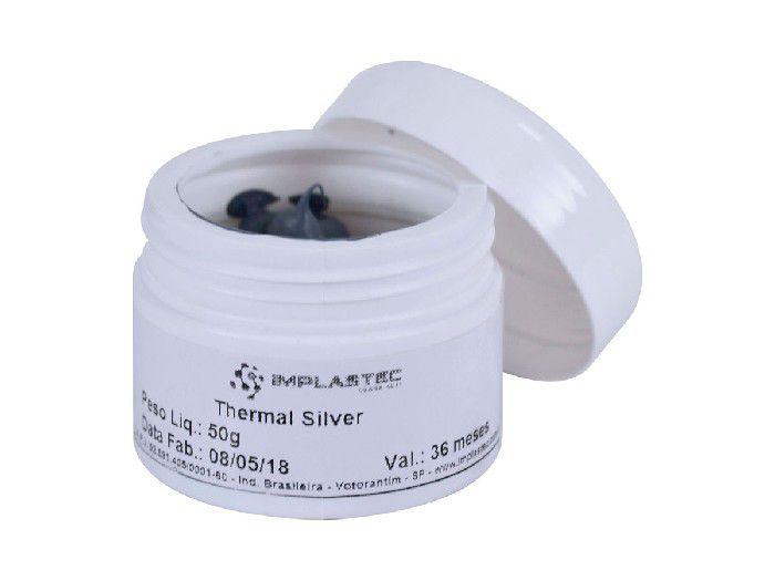 Pasta Térmica Gv Thermal Silver 50g Pote PTI.5901