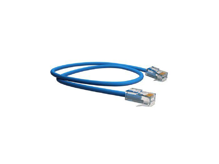 Patch Cord Cat5e 2,5mt Multilan Azul U/UTP Cm Furukawa T568A/B