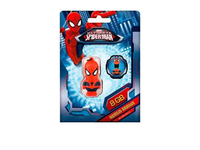 Pendrive Multilaser 8GB Marvel Homem Aranha PD084