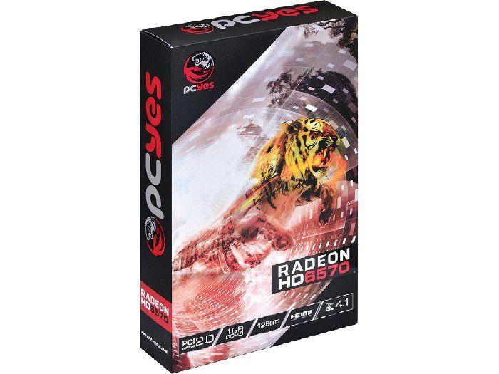 Placa de Video 1GB 6570 Pcyes DDR3 128Bit PPV657012801D3