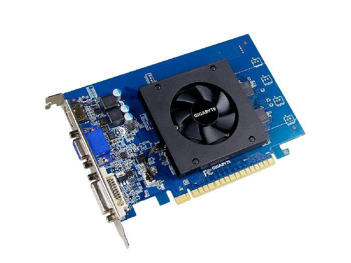 Placa de Video 1gb Gigabyte Gt710 Ddr5 Pci-e Gv-n710d5-1gi