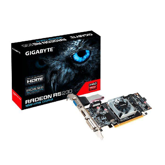 Placa de Video 1gb Gigabyte R5 230 Gv-r523d3-1gl Rev2