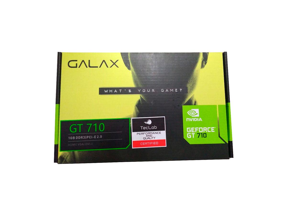 Placa de Video 1GB GT 710 D3 64B Galax 71GGF4DC00WG