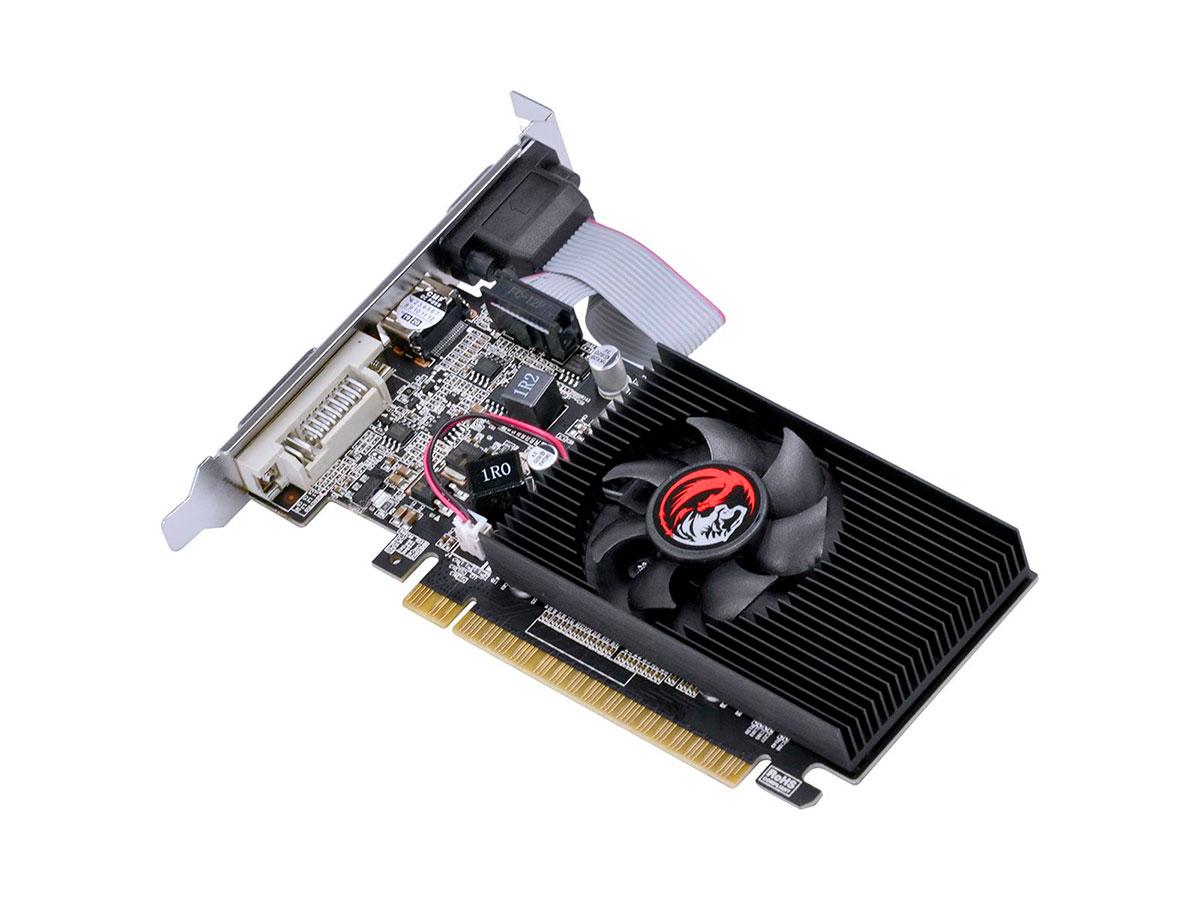 Placa de Vídeo 1GB PCYes GeForce G210, DDR3, 64 Bits - PA210G6401D3LP