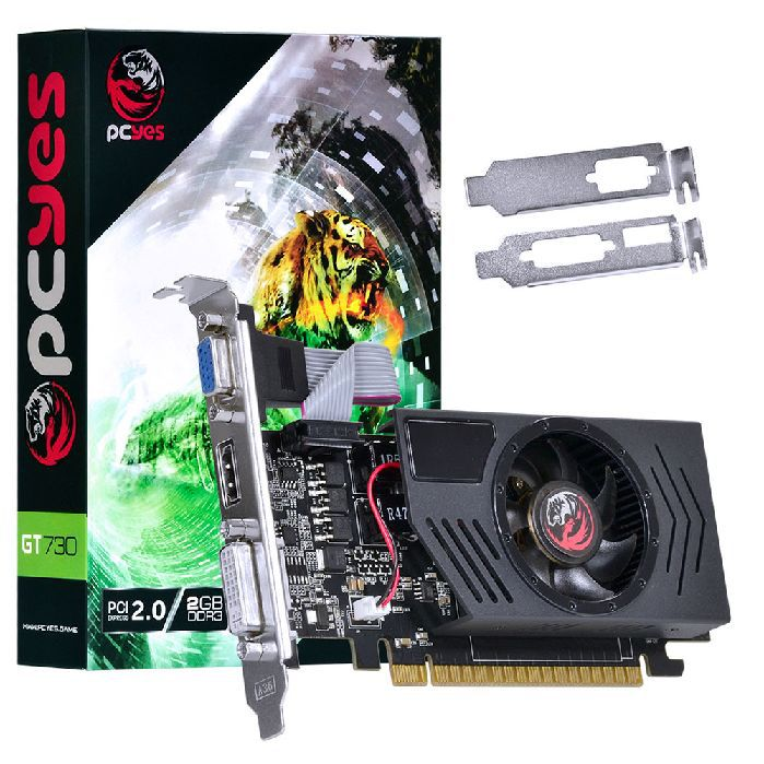 Placa de Video 2gb Gt730 Pcyes Ddr3 Pj73012802d3lp