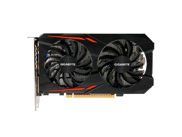 Placa de Video 2GB GTX1050 Oc DDR5 Gigabyte GV-N1050OC-2GD