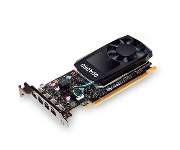 Placa de Vídeo 2GB PNY Quadro P600 DDR5 - VCQP600-PORPB - ESP