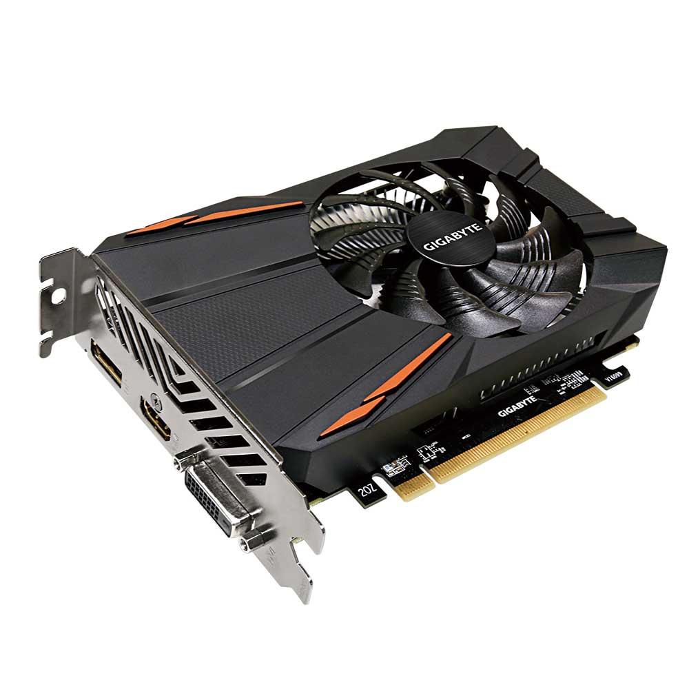 Placa de Video 2gb Rx 550 Gigabyte Radeon Ddr5 128bits - GV-RX550D5-2GD
