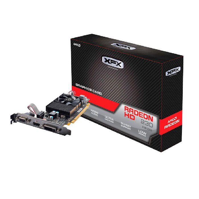 Placa de Vídeo 2GB XFX Radeon R5 230 128Bits DDR3 650M