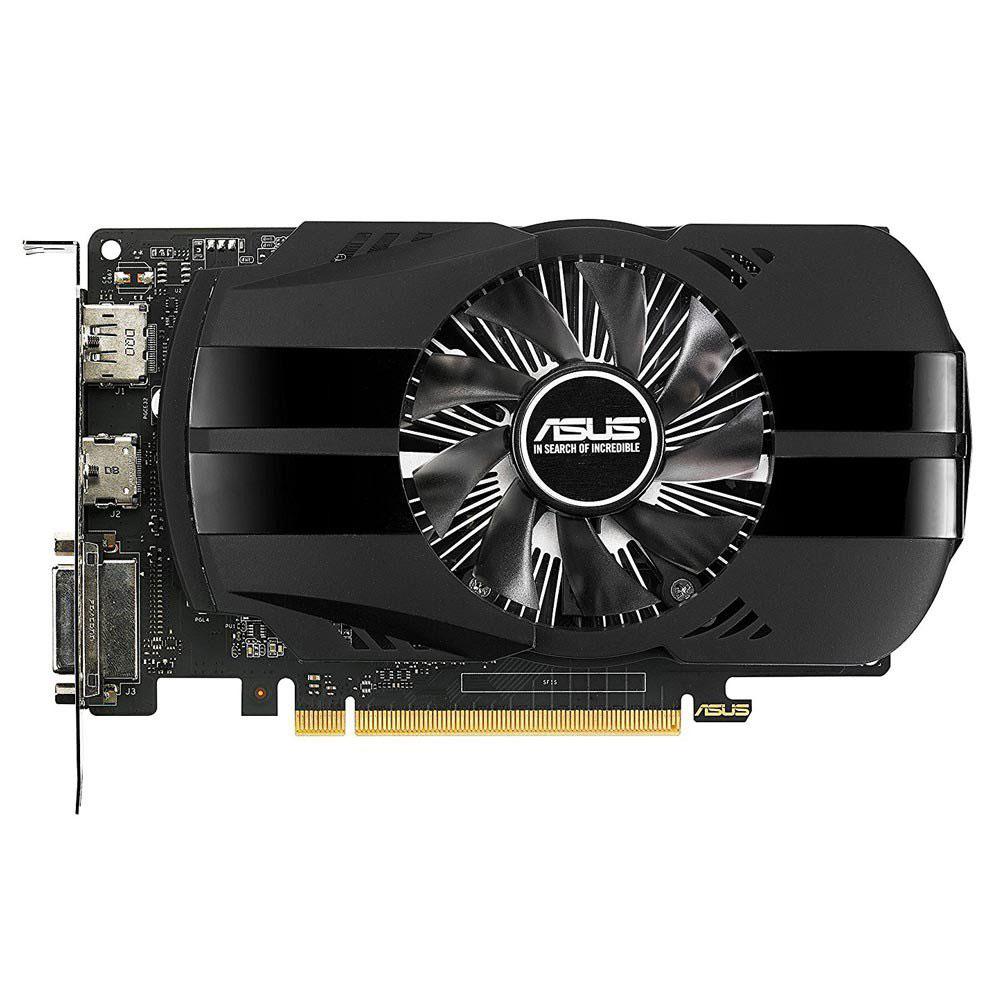 Placa de Video 4gb Asus Geforce Gtx1050 Ti Phoenix Ddr5 128bits - PH-GTX1050TI-4G