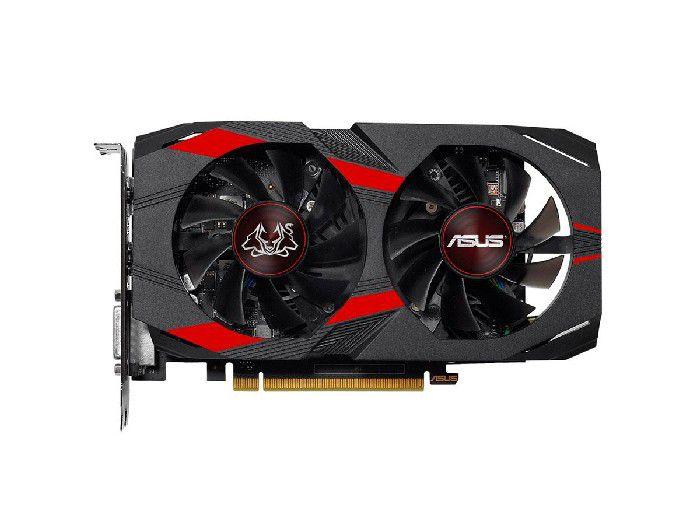Placa de Vídeo 4GB Asus Geforce GTX1050TI CERBERUS DDR5 128 Bits - CERBERUS-GTX1050TI-A4G