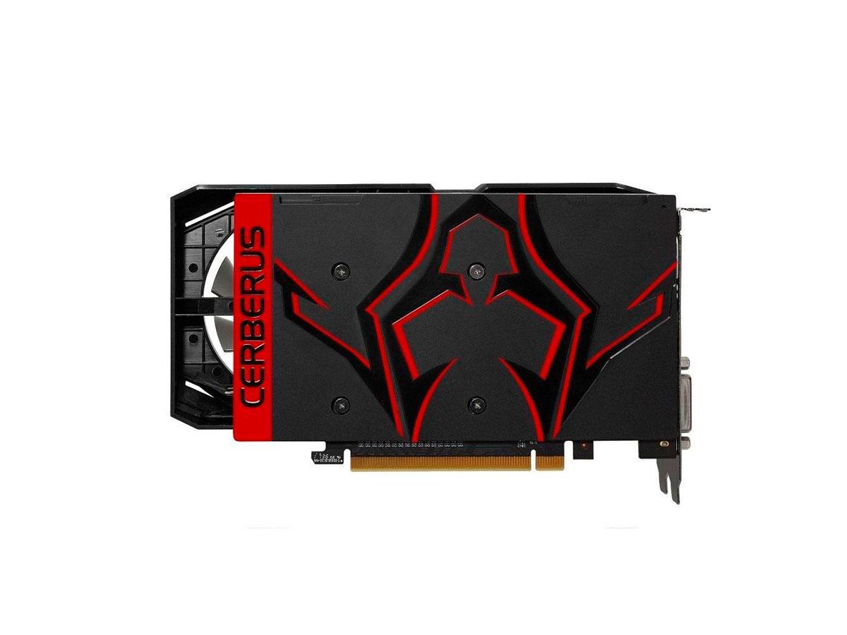 Placa de Vídeo 4GB Asus Geforce GTX1050TI Oc CERBERUS DDR5 128 Bits - CERBERUS-GTX1050TI-O4G