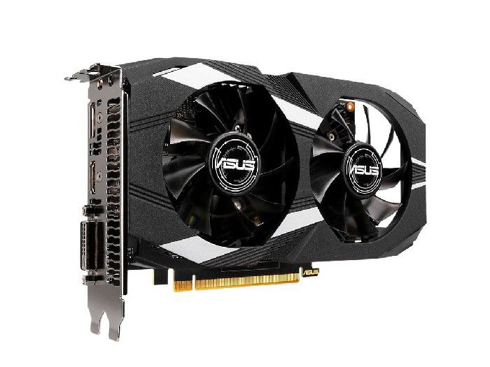 Placa de Vídeo 4GB Asus Geforce GTX 1650 Dual DDR5 128 Bits DUAL-GTX1650-O4G