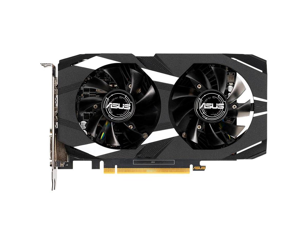 Placa de Vídeo 4GB Asus Geforce GTX 1650 Dual DDR5 128 Bits DUAL-GTX1650-O4G