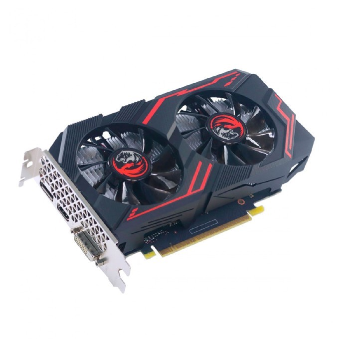 Placa de Video 4GB GeForce GTX 1650 PCYES Graffiti Series, Dual Fan, GDDR6,128Bits - PA1650412820DR6