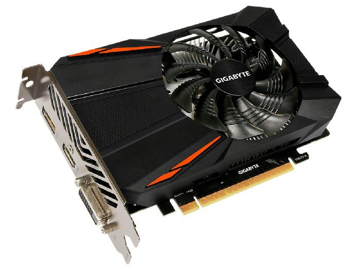 Placa de Video 4gb Gigabyte Geforce Gtx 1050 Ti Ddr5 128bits - GV-N105TD5-4GD