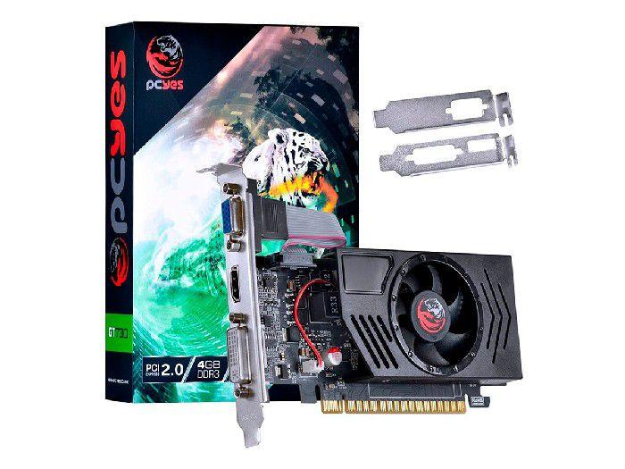 Placa de Video 4gb Gt730 Pcyes Ddr3 128 Lp Pv73012804d3lp