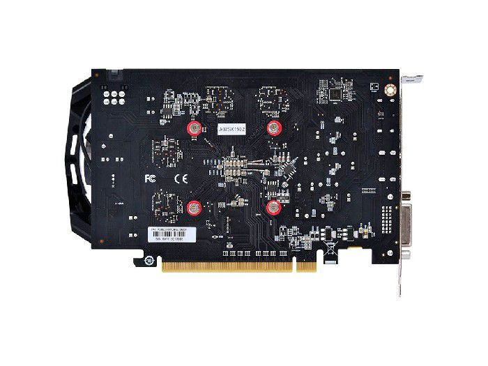 Placa de Vídeo 4GB Pcyes RX550 GDDR5 PJ550RX12804G5DF