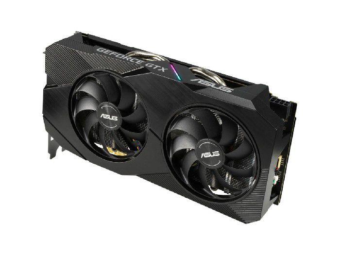 Placa de Vídeo 6GB Asus Geforce GTX1660 Evo DDR5 192Bits - DUAL-GTX1660-O6G-EVO