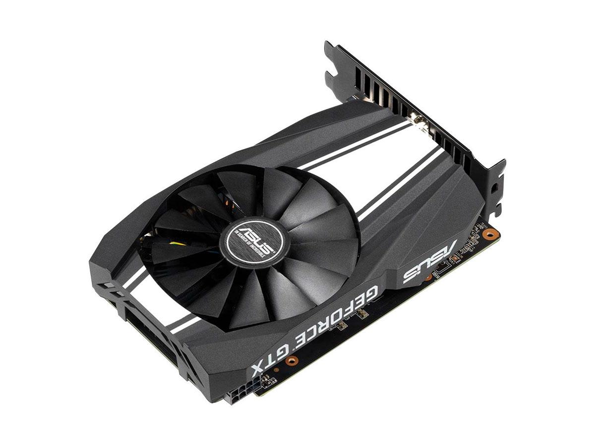 Placa de Vídeo 6GB Asus Geforce GTX 1660 TI Ph Oc DDR6 192 Bits - PH-GTX1660TI-O6G