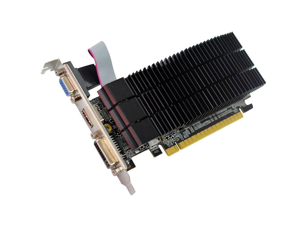 Placa de Vídeo Afox Geforce GT210 1GB DDR3 64 Bits - HDMI- DVI - VGA - AF210-1024D3L5