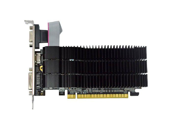 Placa de Vídeo Afox Geforce GT210 1GB DDR3 64 Bits - HDMI- DVI - VGA - AF210-1024D3L5