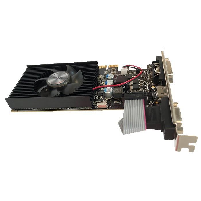 Placa de Vídeo Afox GT220 1GB DDR3 128Bits Low Profile HDMI/DVI/VGA - AF220-1024D3L2