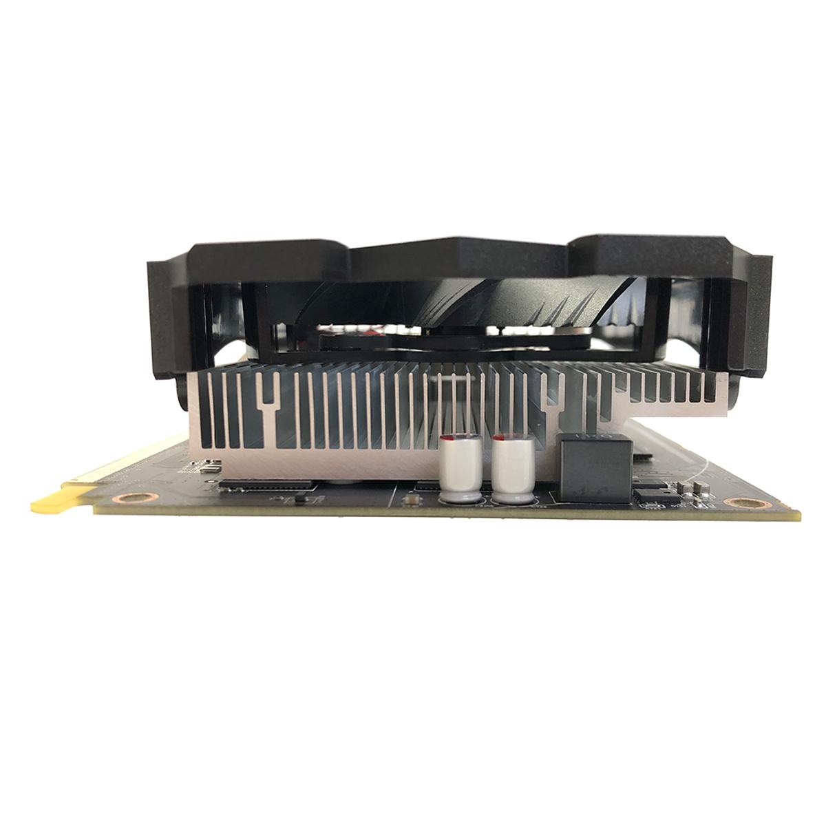 Placa de Vídeo Afox Radeon RX550, 2GB, DDR5, 128 Bits, HDMI/DVI/DisplayPort - AFRX550-2048D5H4