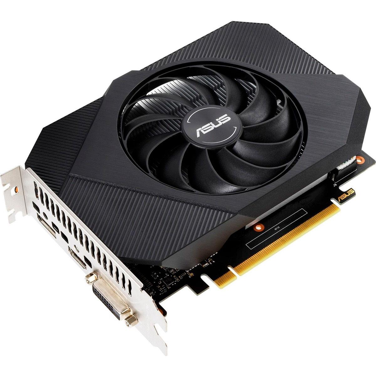 Placa de Vídeo Asus GeForce GTX 1650 OC Edition Phoenix GDDR6 4GB 128 Bits - PH-GTX1650-O4GD6