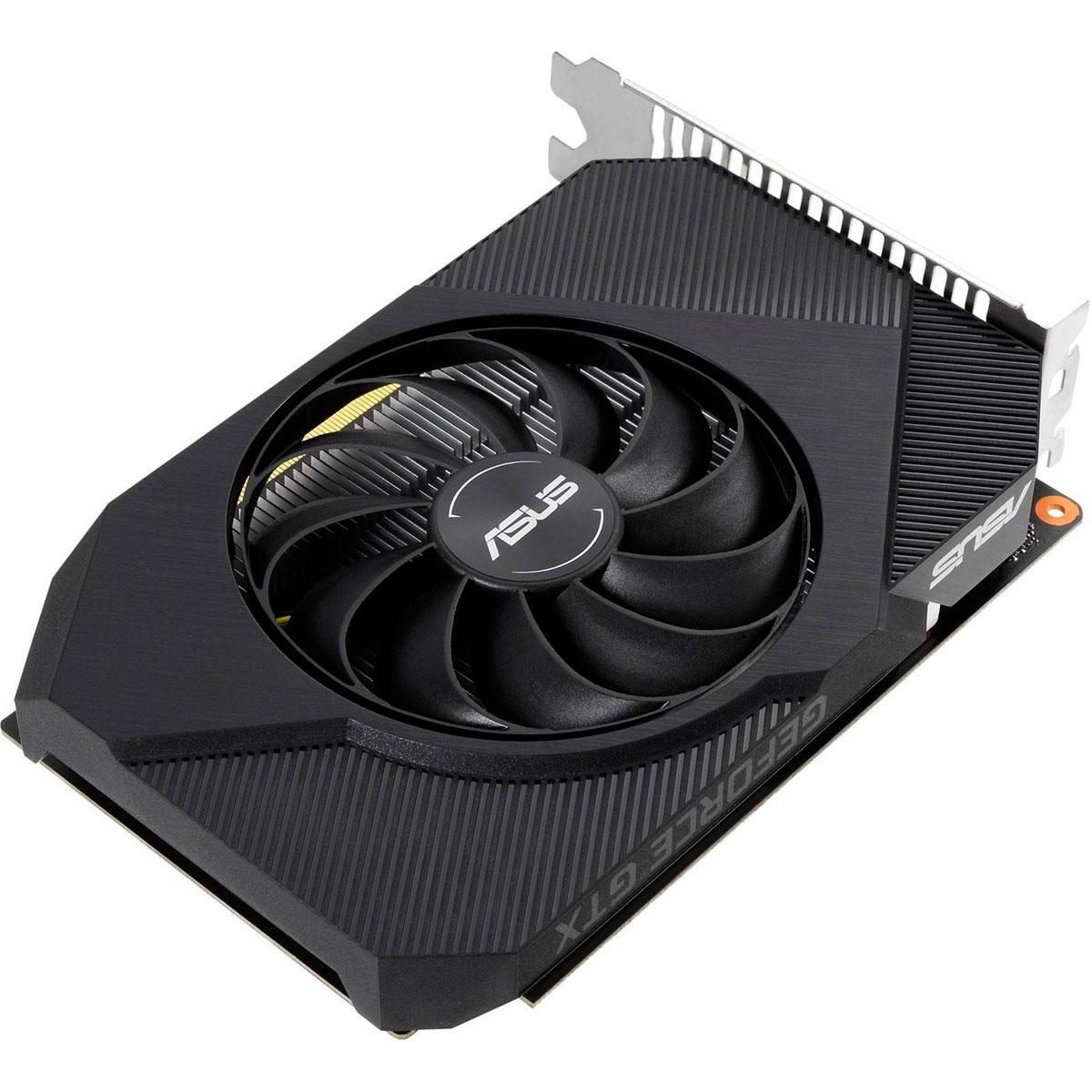 Placa de Vídeo Asus GeForce GTX 1650 OC Edition Phoenix GDDR6 4GB 128 Bits - PH-GTX1650-O4GD6-P