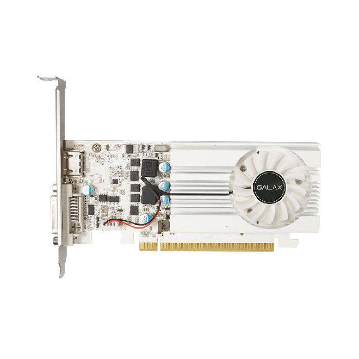 Placa de Video Galax Geforce Gt1030 2gb Exoc White Ddr4 64bits