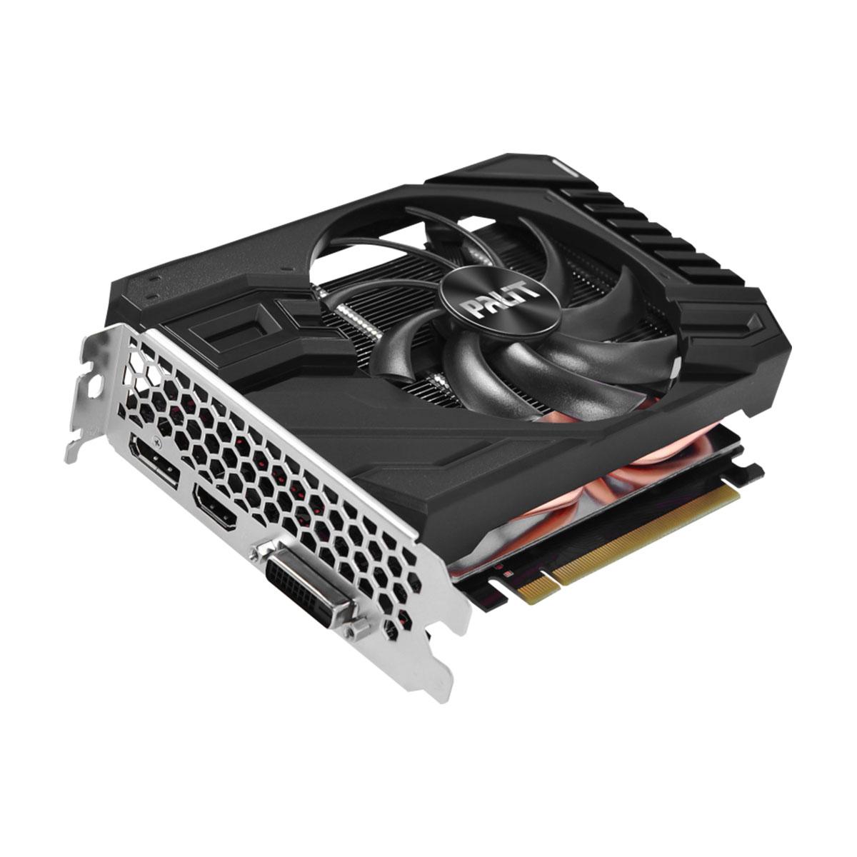 Placa de Vídeo Palit GeForce GTX 1660 Super StormX, 6GB, GDDR6, 192 Bits - NE6166S018J9-161F