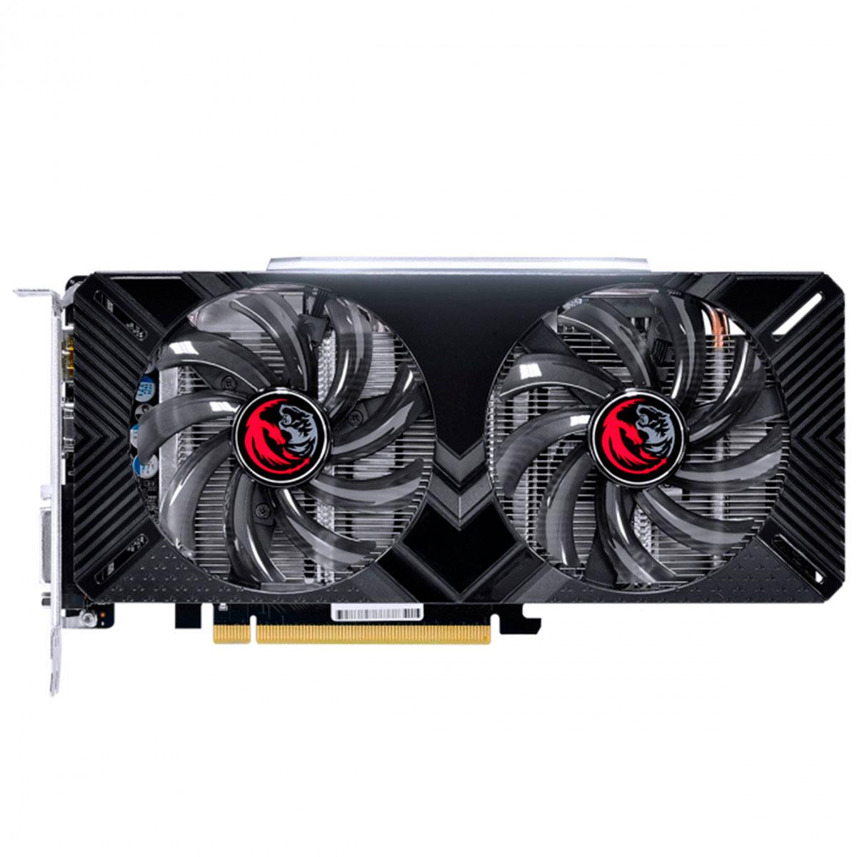 Placa de Vídeo PCYes GeForce GTX 1660 OC, 6GB, GDDR5, 192 Bits, Graffiti Series - PPOC166019206G5